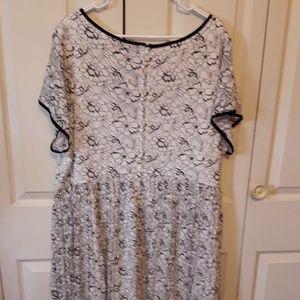 torrid Dresses - Torrid Lace Pleated Dress